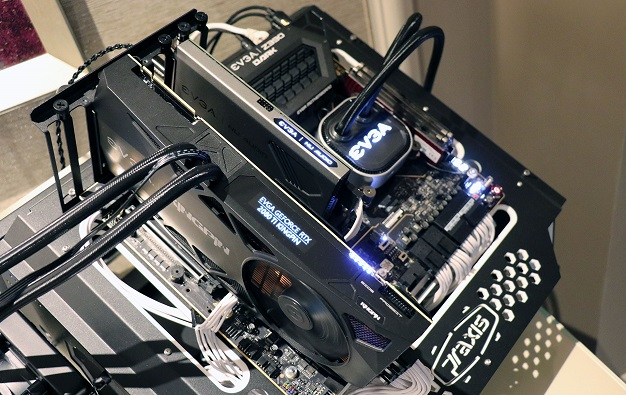 big EVGA Z390 Dark Motherboard and System