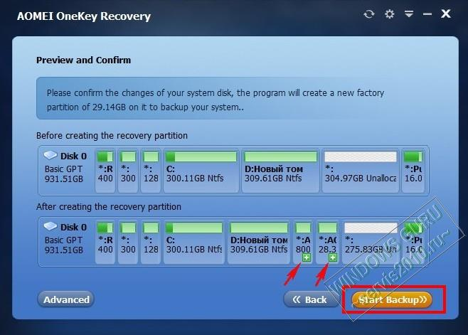 AOMEI OneKey Recovery 15