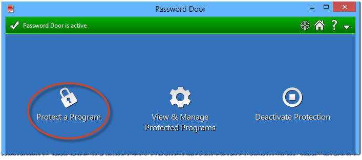 How to protect your password program