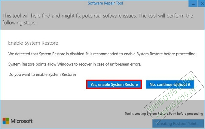 Troubleshooting in Windows 10 3