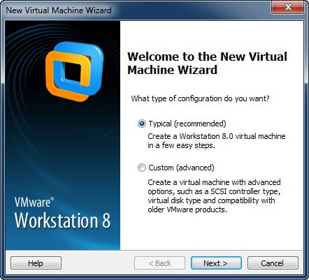 Windows 8  VMware Workstation