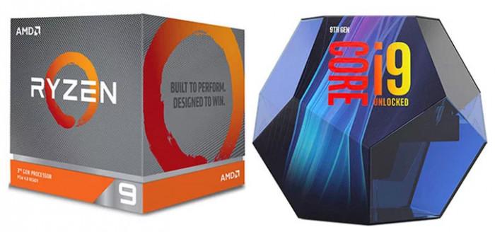 AMD Ryzen 9 3900X против Intel Core i9-9900K